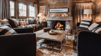 Four must-haves in a luxury chalet