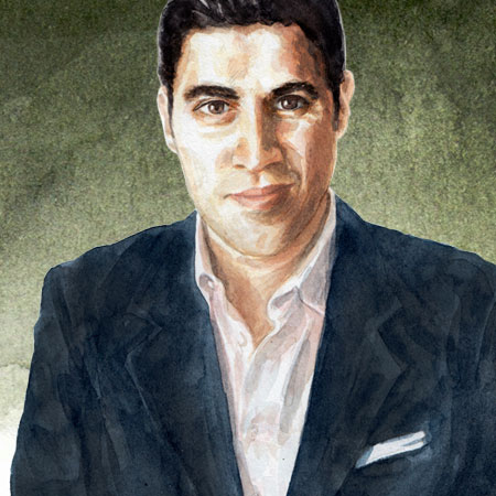 Illustration of Parag Khanna